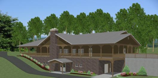 Bethel Camp Exterior View 3-D